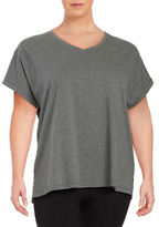 Lord & Taylor Knit Cotton Tee