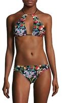 Nanette Lepore Amor Atitlan Stargaze Bikini Top