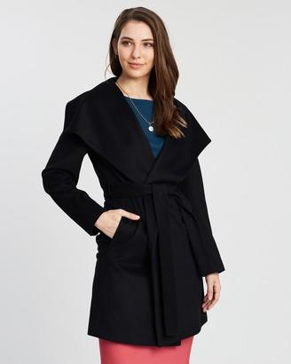 SABA Perry Drape Coat