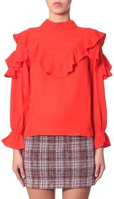 """Jovonna London pouf"""" shirt"""