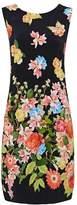 Wallis Petite Black Floral Shift Dress