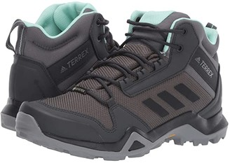 adidas Outdoor Outdoor Terrex AX3 Mid GTX(r) (Grey Five/Black/Clear Mint) Women's Shoes