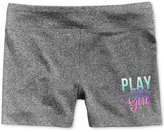 Ideology Play Like a Girl Active Shorts, Big Girls (7-16), Only at Macy's