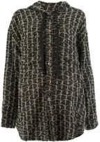 Faith Connexion hooded tweed cardigan