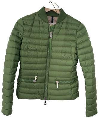 Moncler Classic Green Jacket for Women