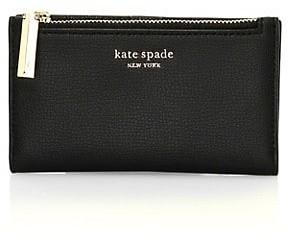 Kate Spade Small Sylvia Leather Bi-Fold Wallet