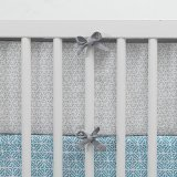 Lambs & Ivy Ryan Collection Reversible Bumper by