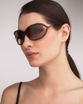 Tom Ford Jennifer Sunglasses, Light Brown