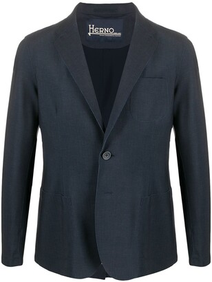 Herno Slim Fit Blazer