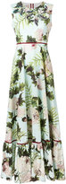 Antonio Marras floral print dress - women - Cotton/Polyester/glass/PVC - 44