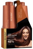 Joico Smooth Cure Shampoo & Conditioner For Curly Frizzy Coarse Hair Sulfate Free 33.8 oz