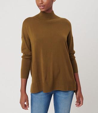 LOFT Hi-Lo Tunic Sweater