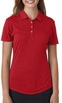 adidas Womens Short-Sleeve Solid Polo A193 - S