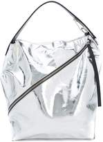 Proenza Schouler Large Metallic Zip Hobo