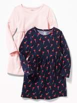 Old Navy Jersey Babydoll Dress 2-Pack for Toddler Girls