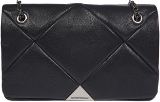 Emporio Armani Quilted Chain Shoulder Bag