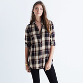 Madewell Classic Ex-Boyfriend Shirt in Hanna Plaid