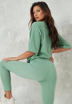 Missguided Petite Jade Leggings