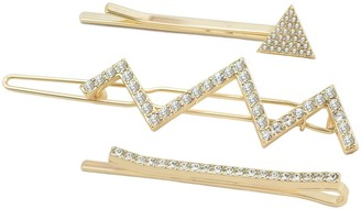 Kristin Cavallari Uncommon James by Uncommon James 3-Pack Crystal Bobby Pins