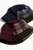 Urban Outfitters Patchwork Menswear Bucket Hat