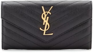 Saint Laurent Monogram Large leather wallet