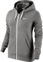 Nike Women's Solid Jersey Full-Zip Hoodie