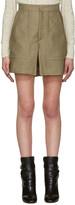 Isabel Marant Taupe Satia Shorts