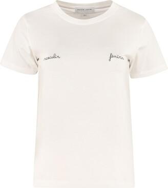 Maison Labiche Embroidery Cotton T-shirt