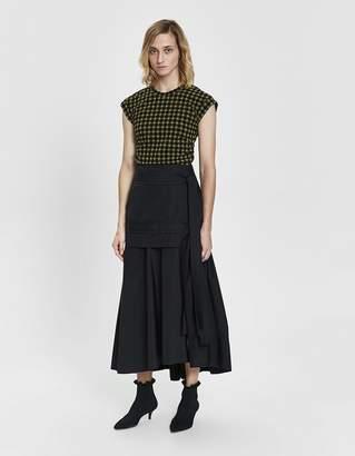 3.1 Phillip Lim Tie-Front Maxi Skirt
