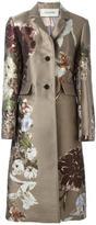 Valentino 'Kimono 1997' floral jacquard coat - women - Silk/Polyester/Metallic Fibre - 36