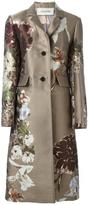 Valentino 'Kimono 1997' floral jacquard coat