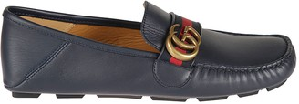 Gucci Velvety Calf Loafers