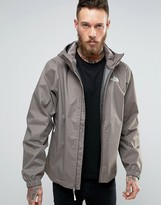 The North Face Quest Hooded Jacket in Brown