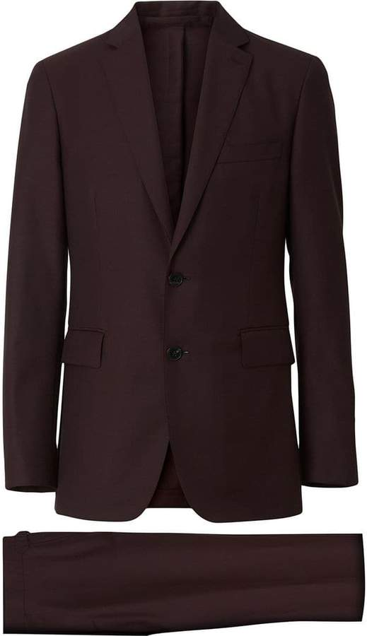 a54eb2cb9931 Burberry Slim Fit Suit Men - ShopStyle