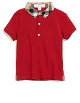 Burberry Infant Boy's 'William' Cotton Polo