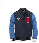 Tommy Hilfiger Big Boy's Th Kids Combo Varsity Jacket