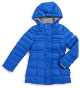 Hawke & Co Girls 2-6x Hooded Down Coat