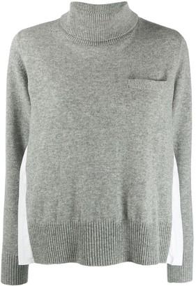 Sacai Two Tone Sweater