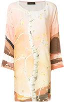 Stine Goya tree print shift dress