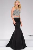 Jovani Mermaid Beaded Two-Piece Prom Dress 41441