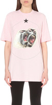 Givenchy Monkey Brothers cotton-jersey t-shirt