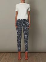 A.L.C. Floral Jasper-print trousers