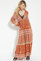 Forever 21 FOREVER 21+ Raga Floral Print Maxi Dress
