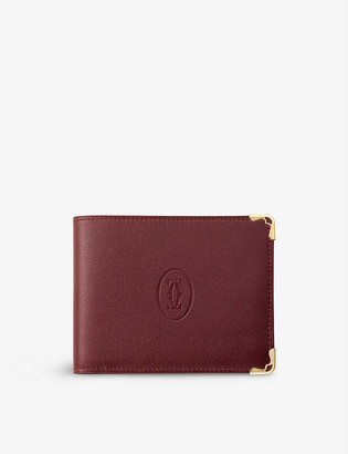 Cartier Must de leather wallet