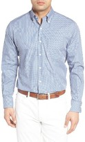 Peter Millar Men's Pacific Multi Check Regular Fit Sport Shirt