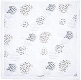 Roberto Cavalli leopard print baby blanket - kids - Cotton/Spandex/Elastane - One Size