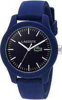 Lacoste Women's 12.12-Feet Quartz Resin and Silicone Automatic Watch, Color: (Model: 2000955)