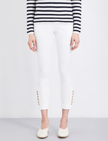 Joseph Finley slim-fit cropped stretch-cotton trousers