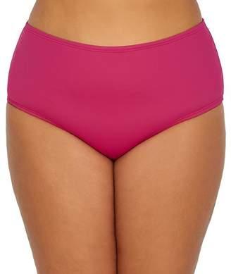 Sunsets Plus Size Pink Poppy The High Road Bikini Bottom