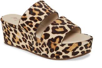 Matisse Struttin' Platform Wedge Slide Sandal